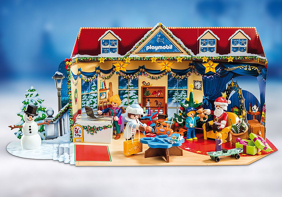 70188 Advent Calendar - Christmas Toy Store detail image 4