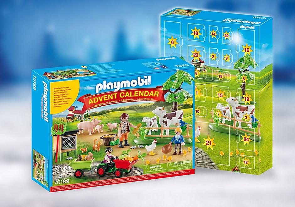 70189 Advent Calendar - Farm detail image 1