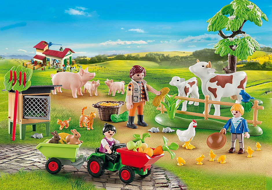 70189 Advent Calendar - Farm detail image 3