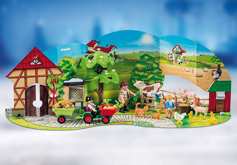 70189 Advent Calendar - Farm detail image 4