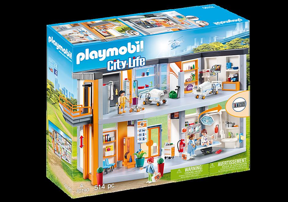 http://media.playmobil.com/i/playmobil/70190_product_box_front/Hôpital aménagé