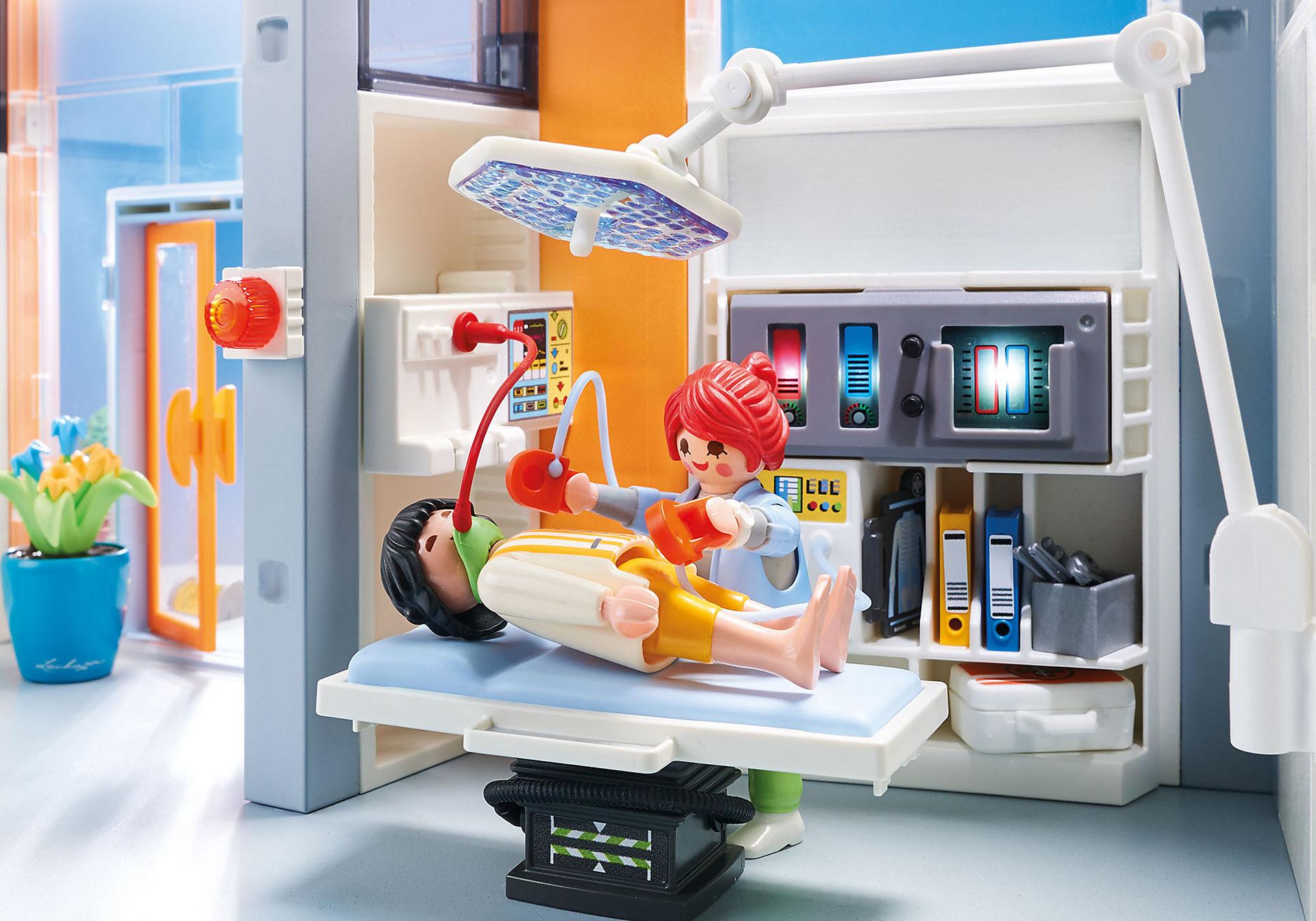 70190 Groot ziekenhuis met inrichting zoom image4