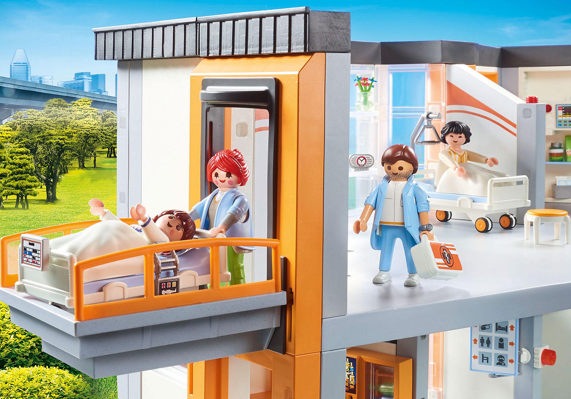 70190 Großes Krankenhaus mit Einrichtung zoom image5