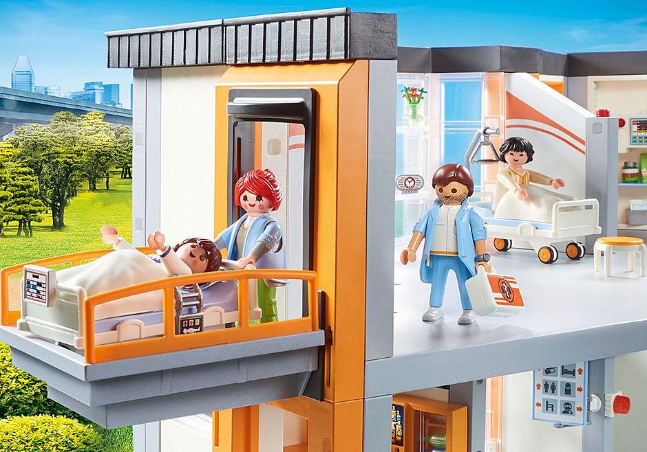 http://media.playmobil.com/i/playmobil/70190_product_extra2/Hôpital aménagé