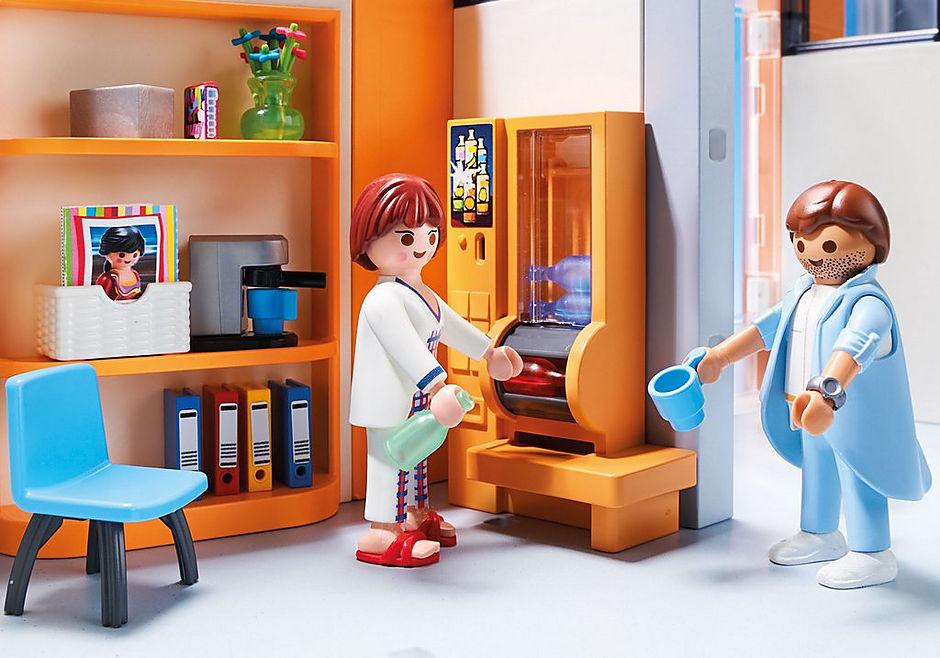http://media.playmobil.com/i/playmobil/70190_product_extra3/Hôpital aménagé