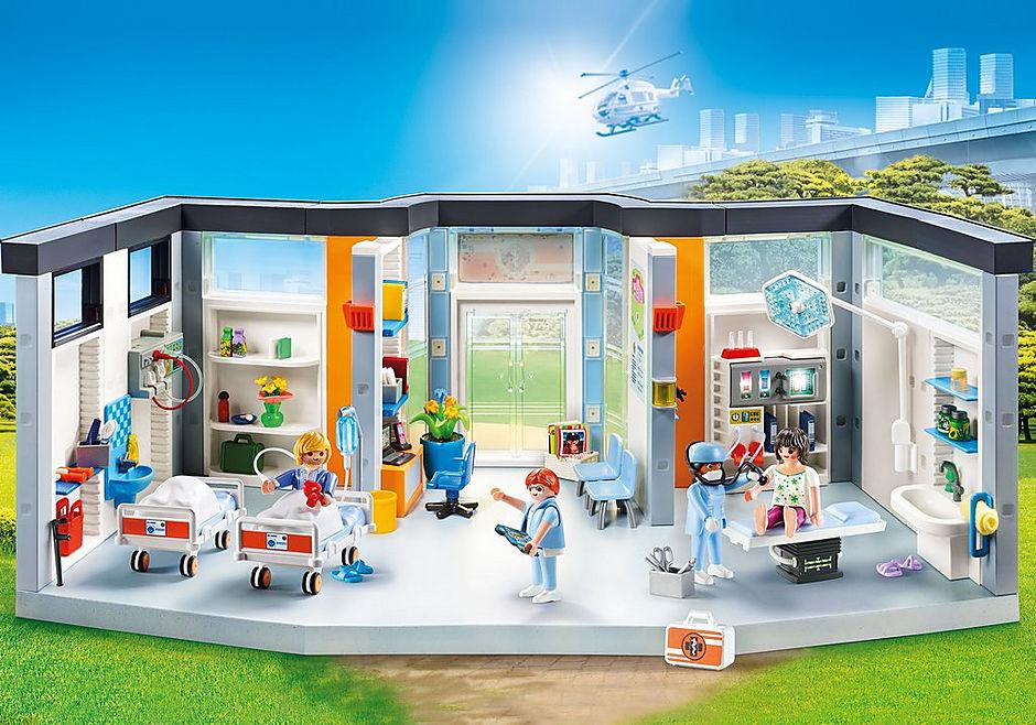 70191 Furnished Hospital Wing detail image 1