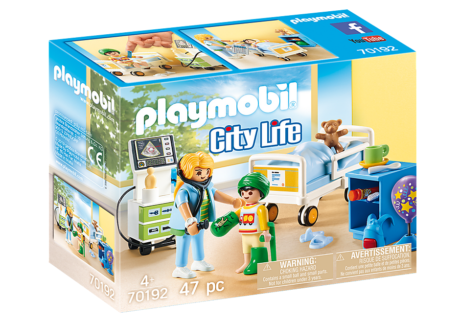 http://media.playmobil.com/i/playmobil/70192_product_box_front/Children's Hospital Room