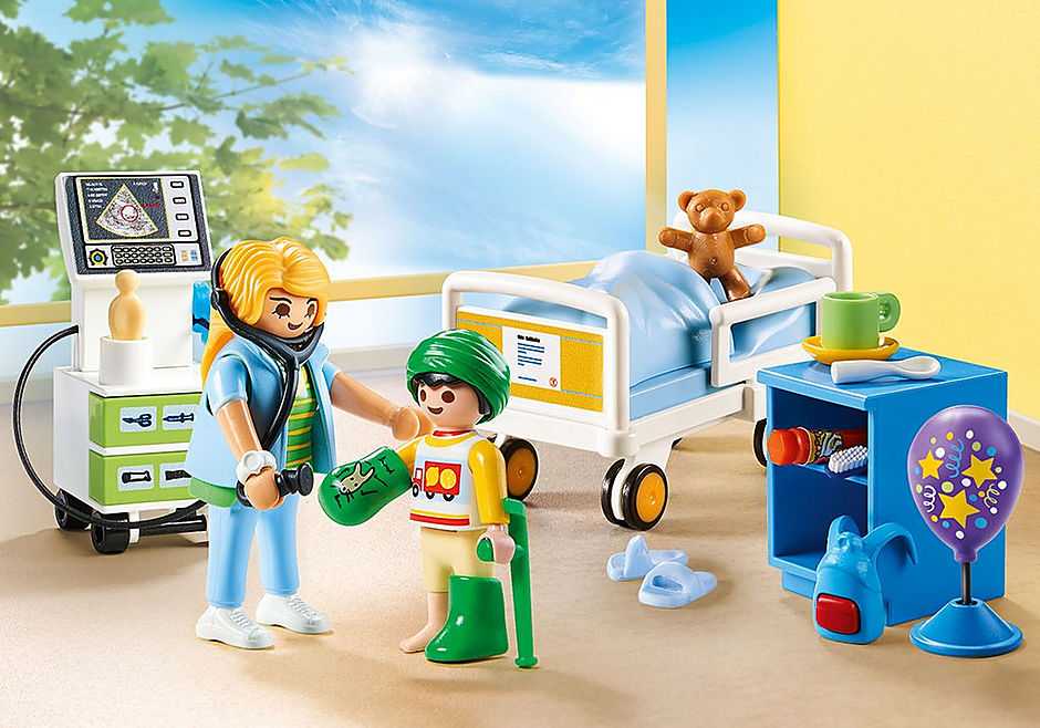 70192 Kinderziekenhuiskamer detail image 1