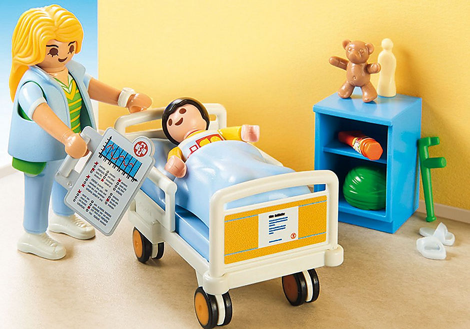 http://media.playmobil.com/i/playmobil/70192_product_extra2/Children's Hospital Room