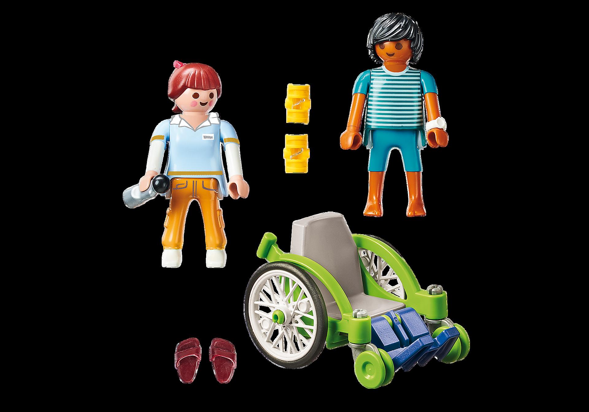 http://media.playmobil.com/i/playmobil/70193_product_box_back/Patient en fauteuil roulant