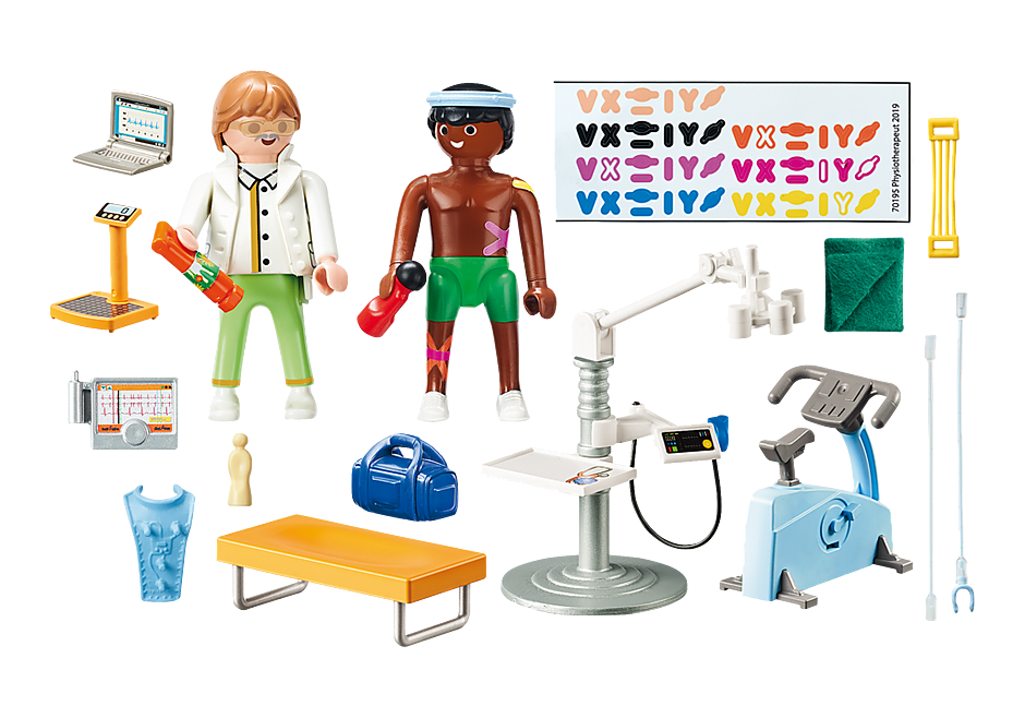 http://media.playmobil.com/i/playmobil/70195_product_box_back/Beim Facharzt: Physiotherapeut