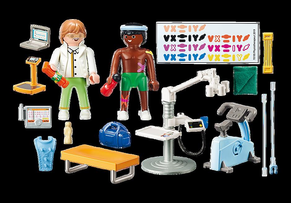 http://media.playmobil.com/i/playmobil/70195_product_box_back/Beim Facharzt: Physiotherapeut