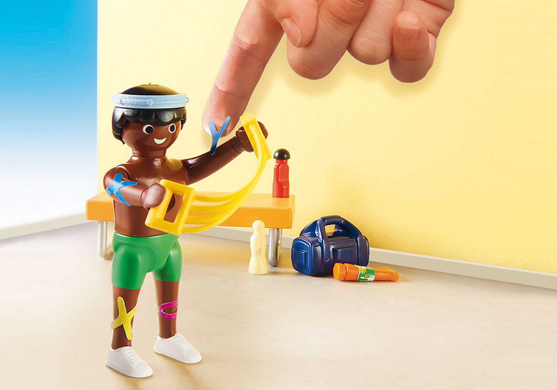 http://media.playmobil.com/i/playmobil/70195_product_extra1/Beim Facharzt: Physiotherapeut