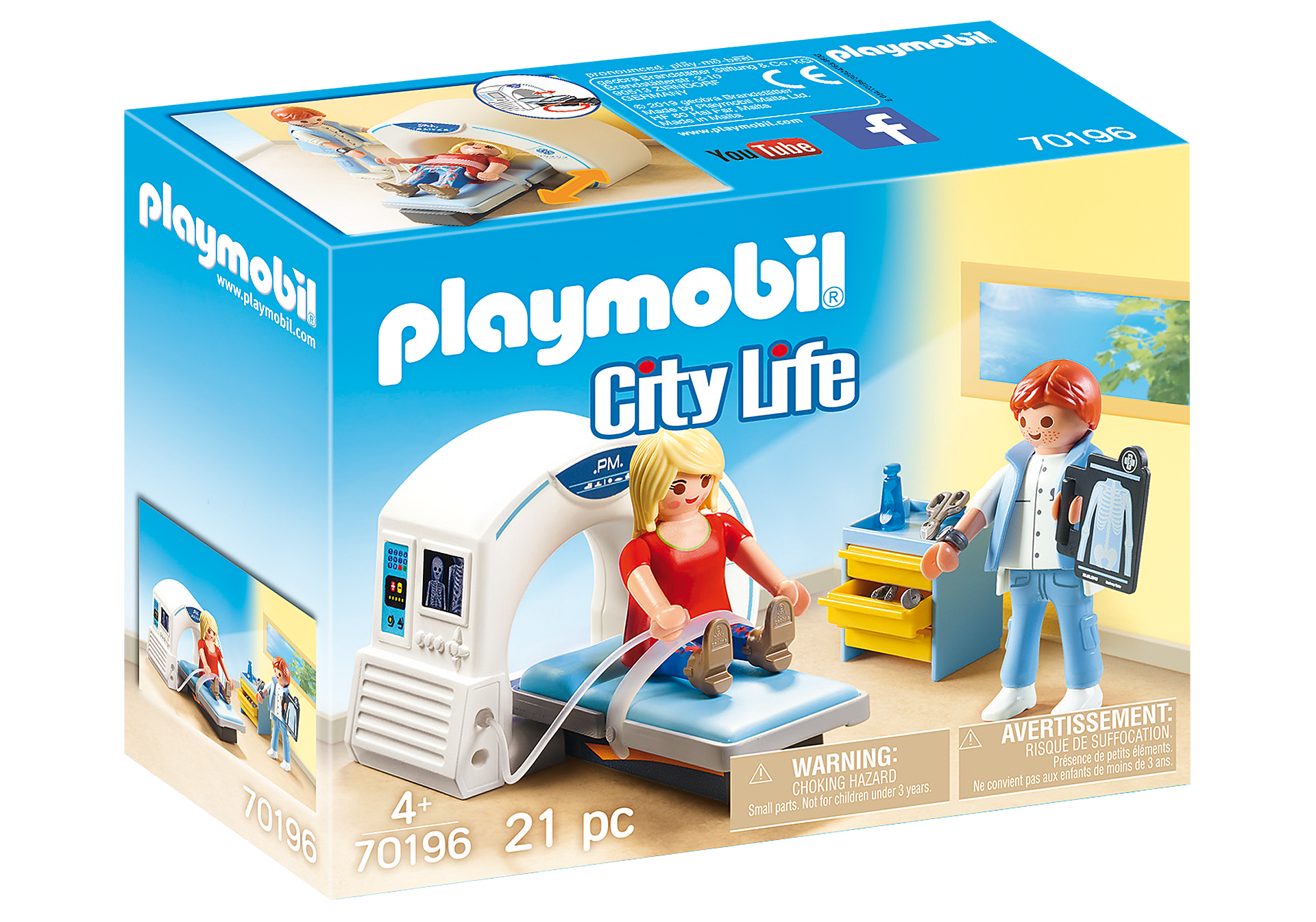 http://media.playmobil.com/i/playmobil/70196_product_box_front/Beim Facharzt: Radiologe