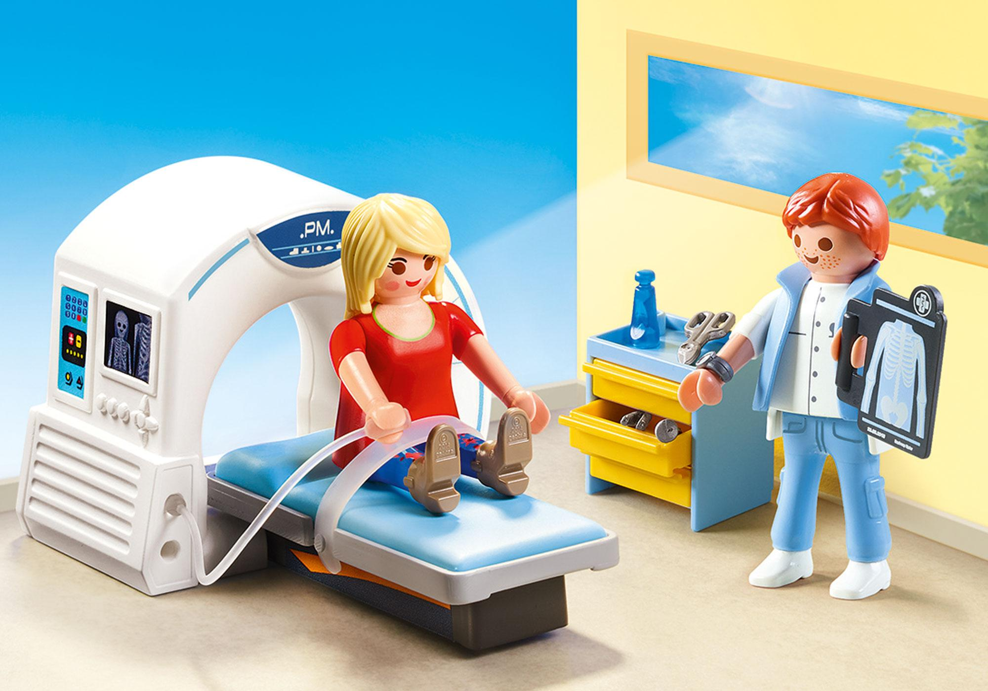 http://media.playmobil.com/i/playmobil/70196_product_detail/Beim Facharzt: Radiologe