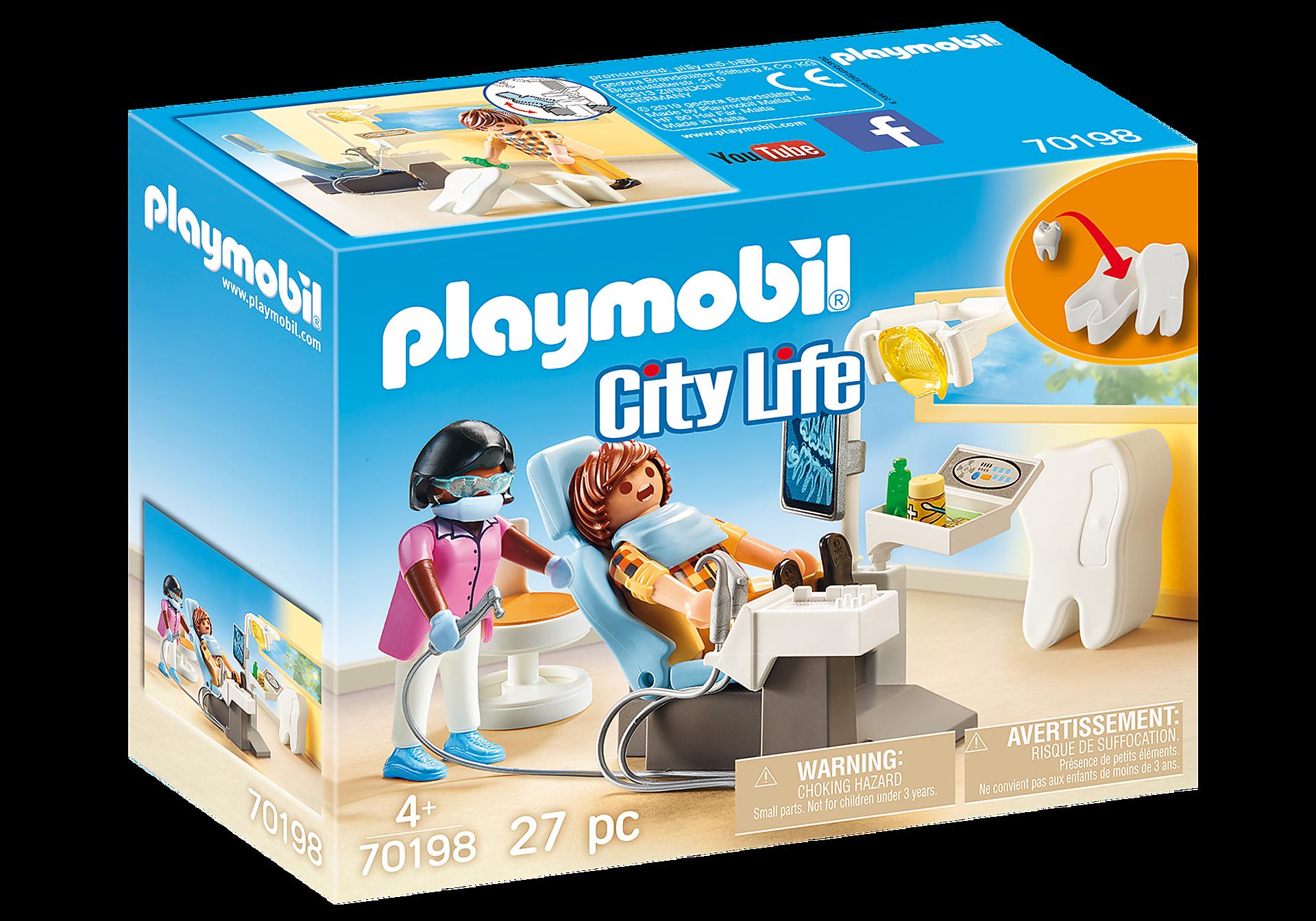 http://media.playmobil.com/i/playmobil/70198_product_box_front/Beim Facharzt: Zahnarzt