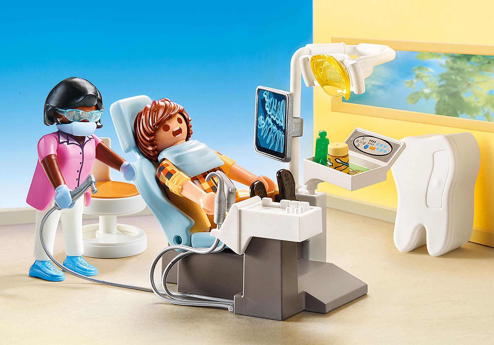 http://media.playmobil.com/i/playmobil/70198_product_detail/Beim Facharzt: Zahnarzt