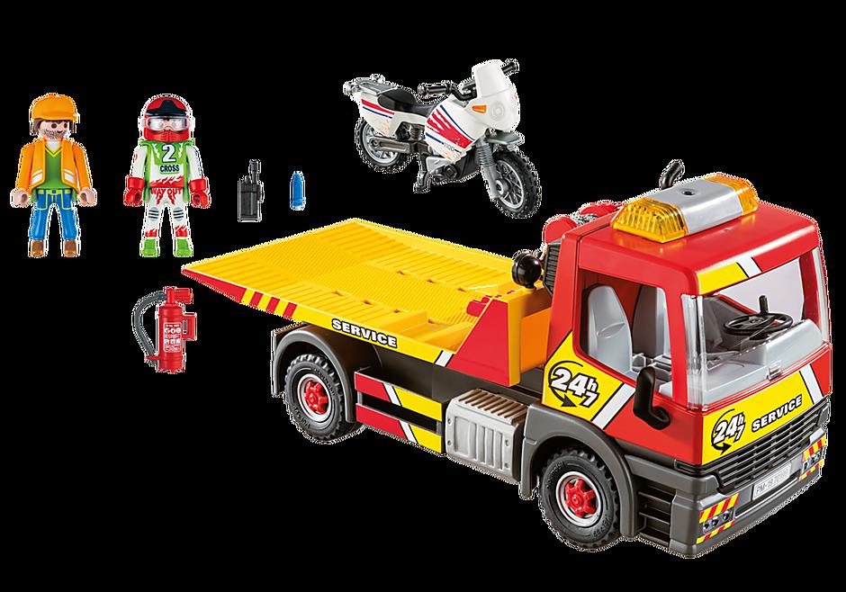 http://media.playmobil.com/i/playmobil/70199_product_box_back/Camion de dépannage