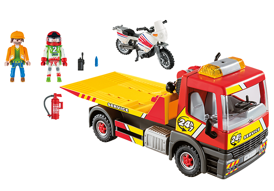 http://media.playmobil.com/i/playmobil/70199_product_box_back/Carro attrezzi con moto
