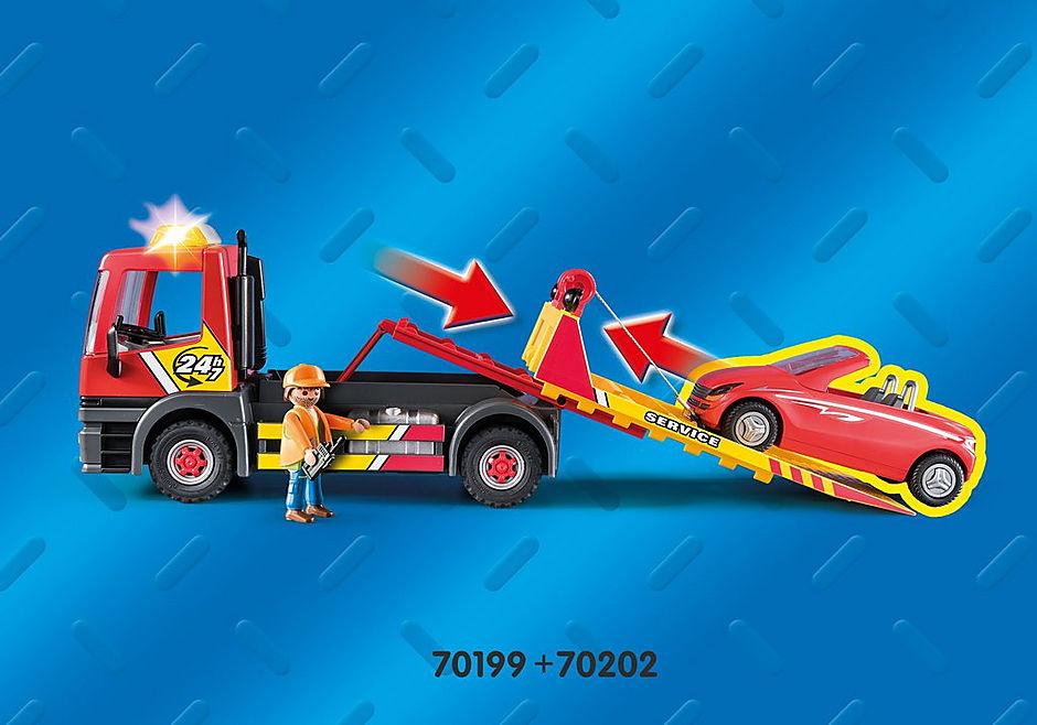 70199 Sleepwagen met motor detail image 4