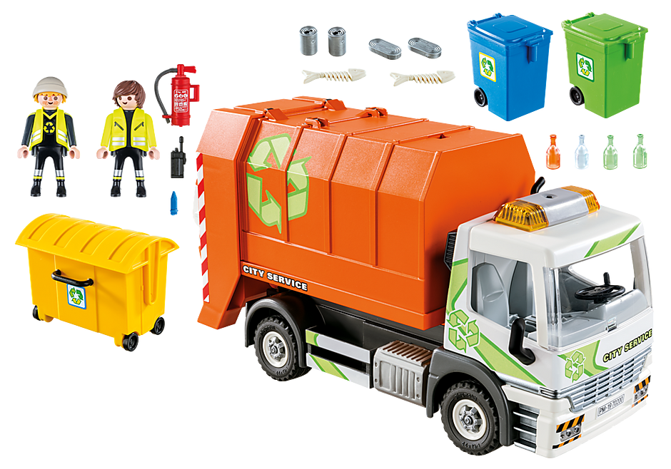70200 Afval recycling truck detail image 3