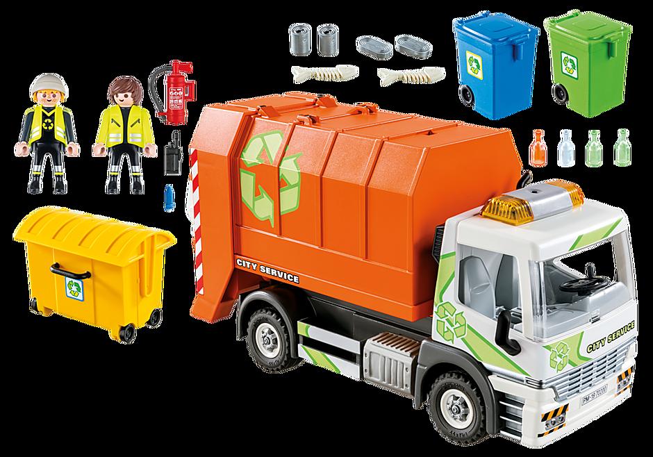 70200 Camion de recyclage des ordures detail image 3
