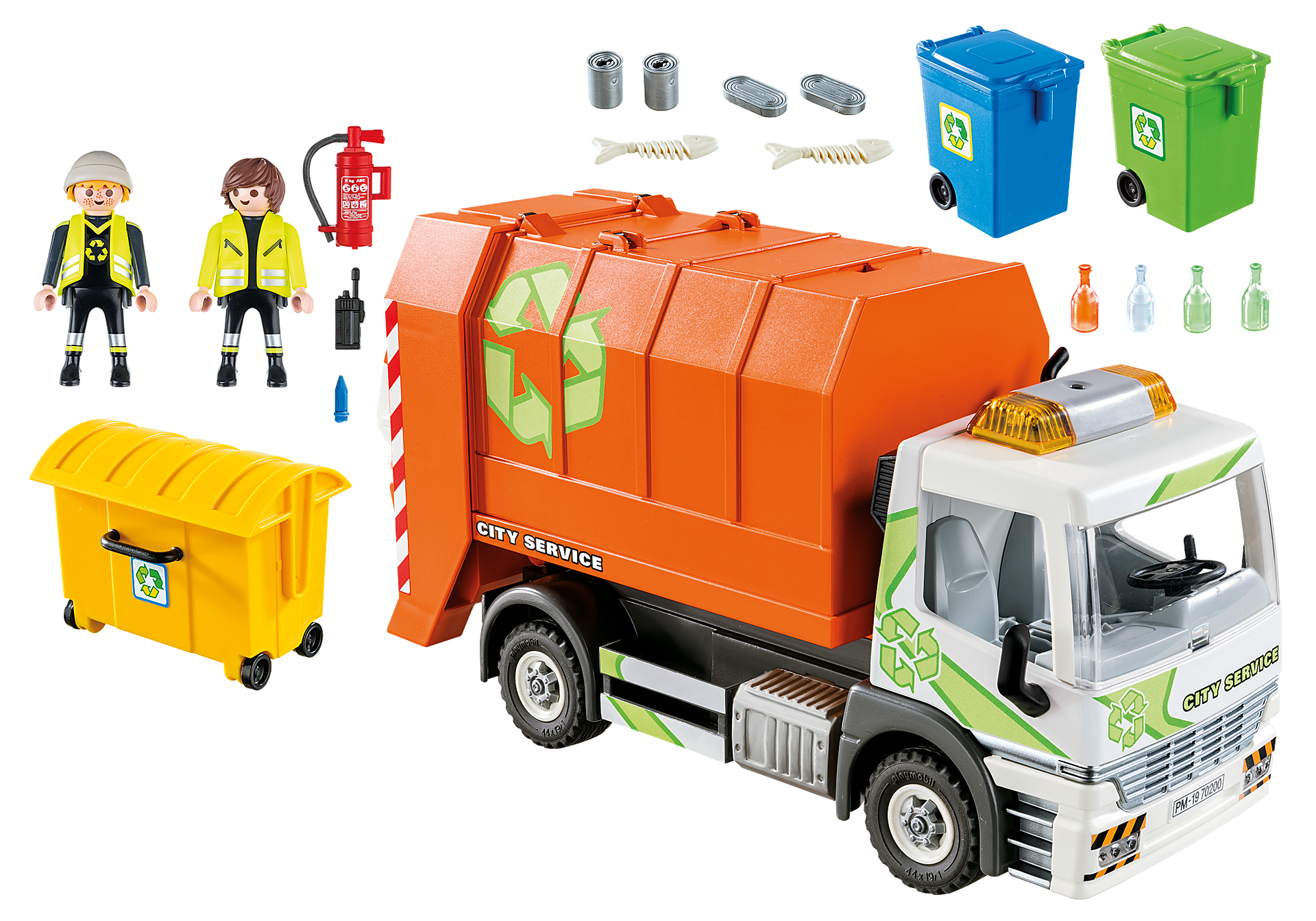70200 Camion de recyclage des ordures zoom image3