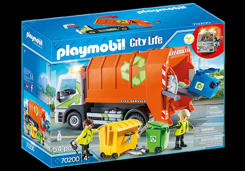 70200 Camion de recyclage des ordures detail image 2
