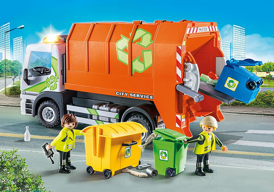 http://media.playmobil.com/i/playmobil/70200_product_detail/Afval recycling truck