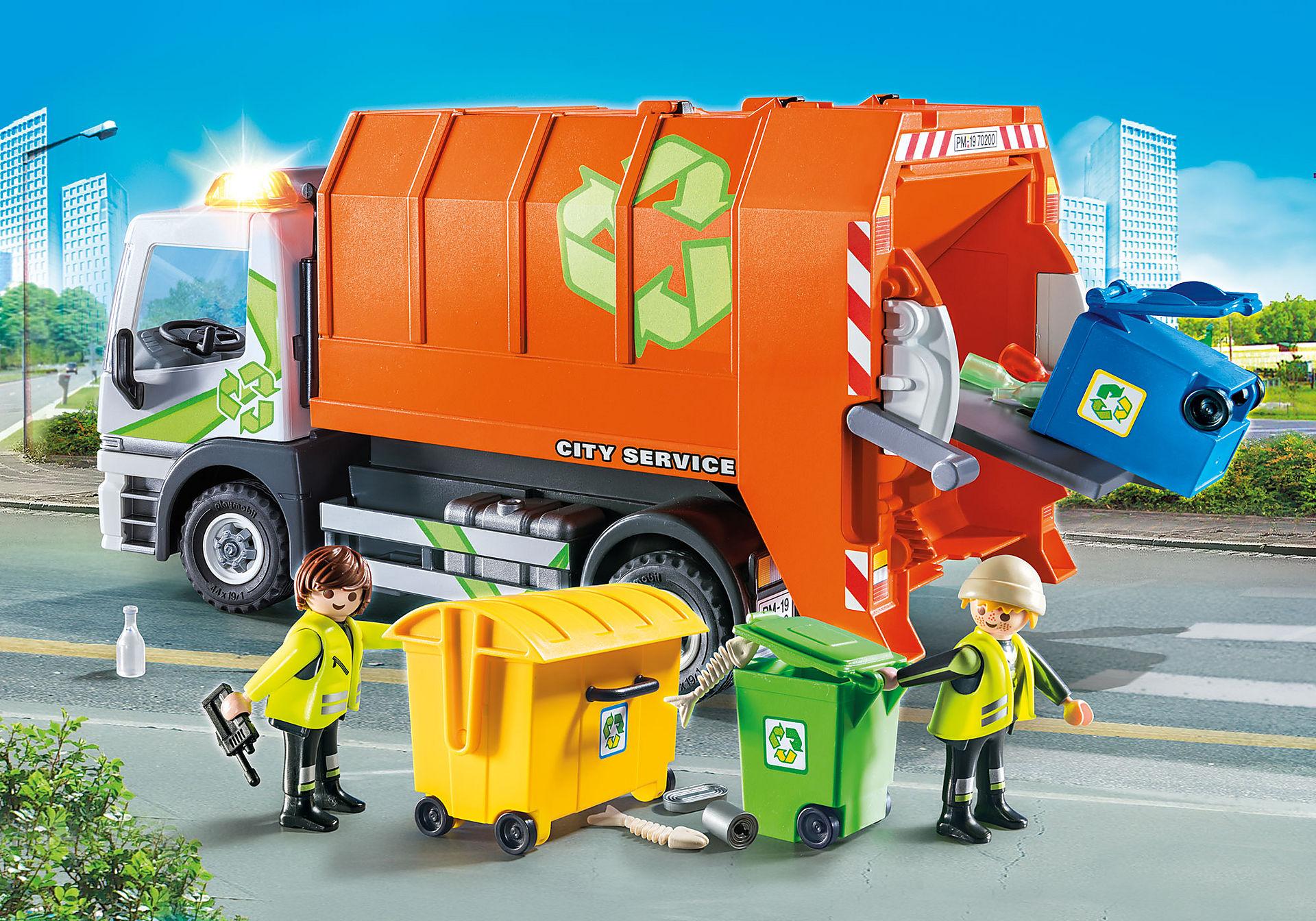 http://media.playmobil.com/i/playmobil/70200_product_detail/Camion de recyclage des ordures