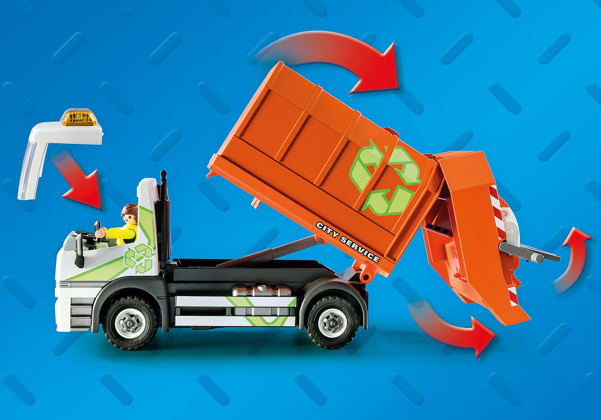 70200 Camion de recyclage des ordures zoom image4