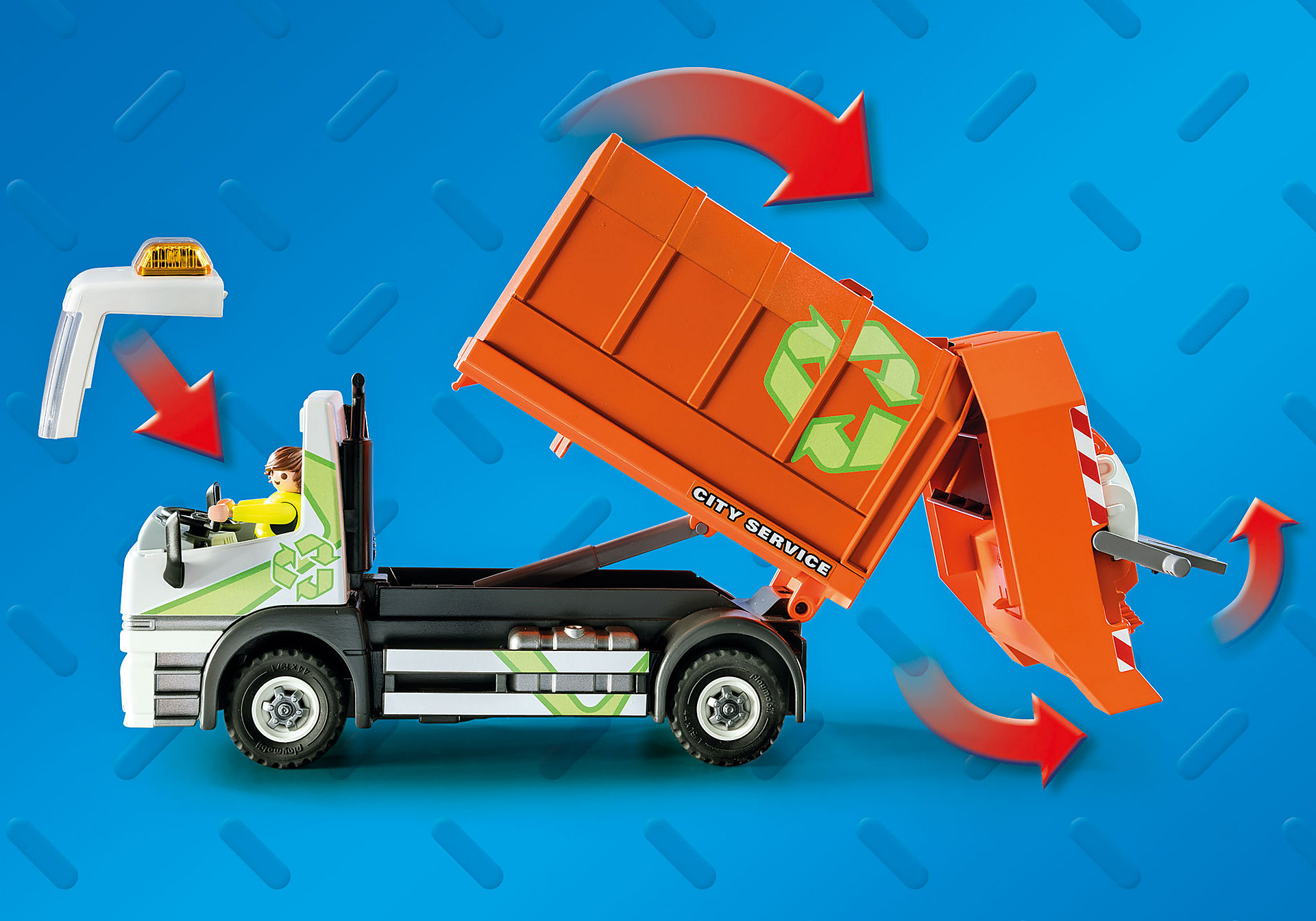 70200 Recycling Truck zoom image4