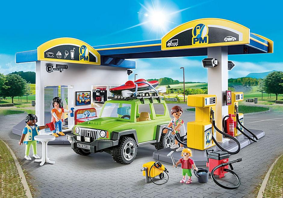 70201 Große Tankstelle detail image 1