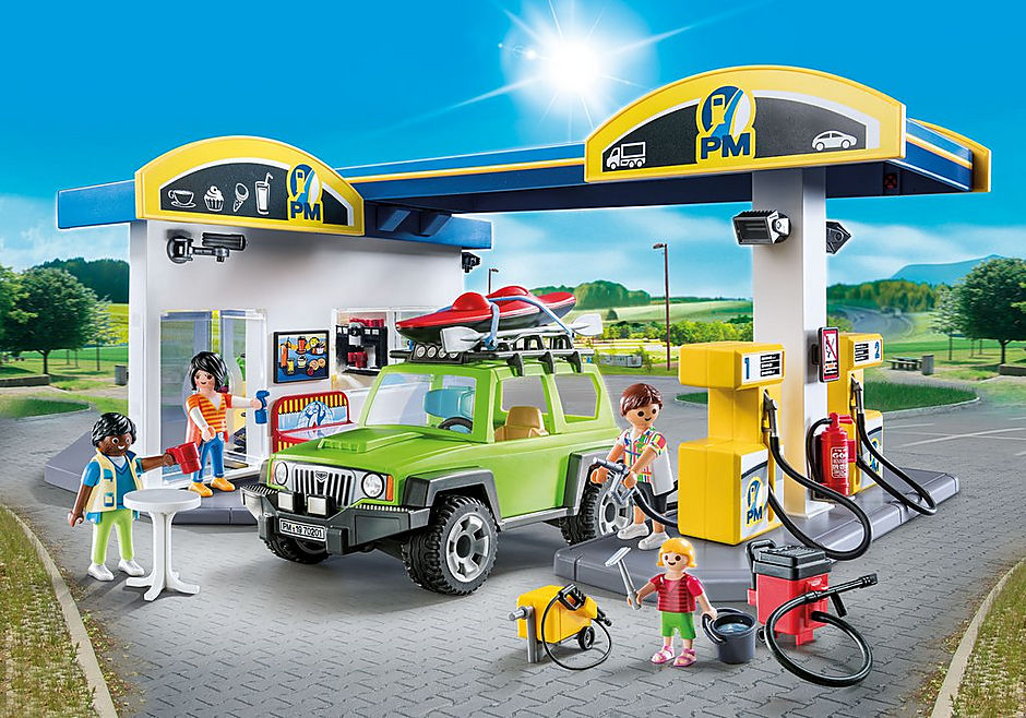 70201 Stacja benzynowa detail image 1