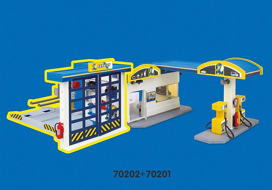 70201 Stacja benzynowa detail image 8