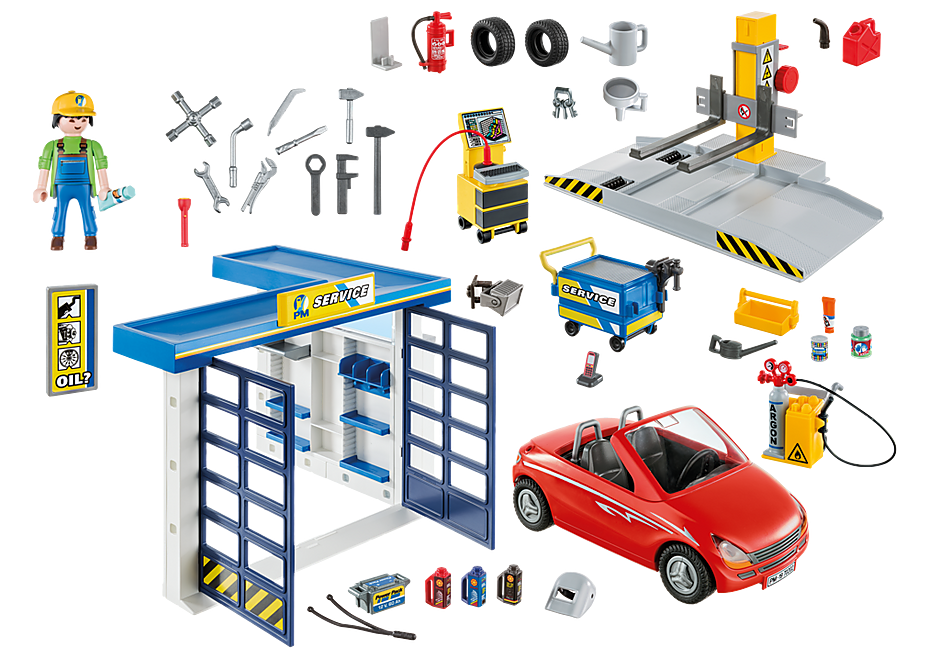 http://media.playmobil.com/i/playmobil/70202_product_box_back/Garage automobile