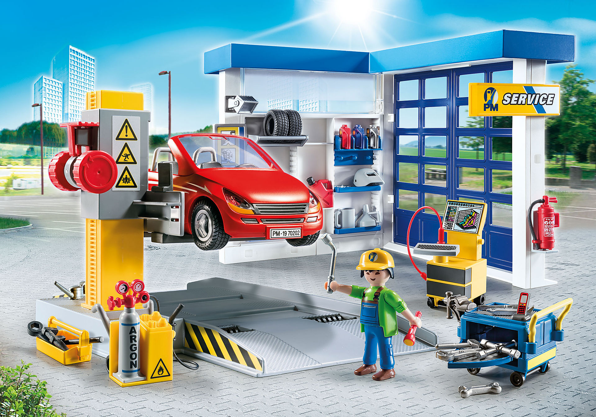 http://media.playmobil.com/i/playmobil/70202_product_detail/Car Repair Garage