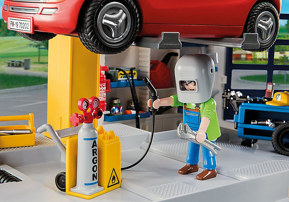 http://media.playmobil.com/i/playmobil/70202_product_extra1/Garage automobile