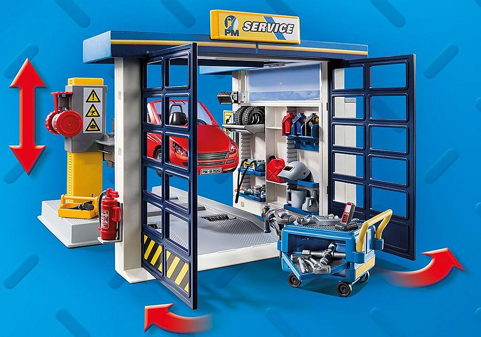 70202 Garage automobile  detail image 6