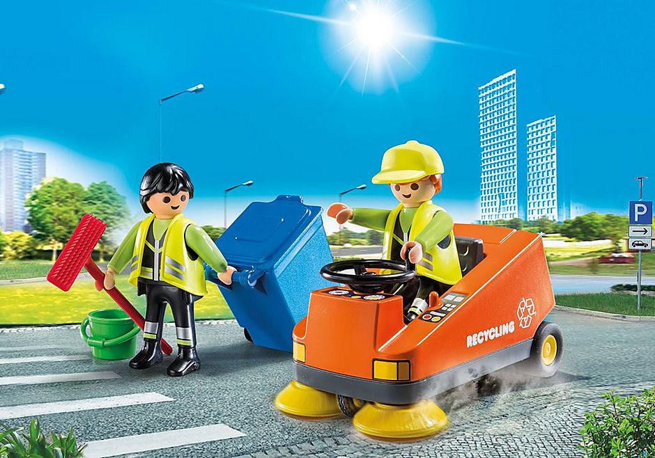 http://media.playmobil.com/i/playmobil/70203_product_detail/Agents d'entretien de la voierie