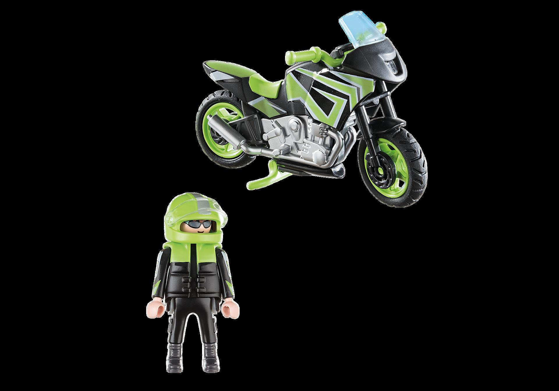 70204 Pilote et moto  zoom image3