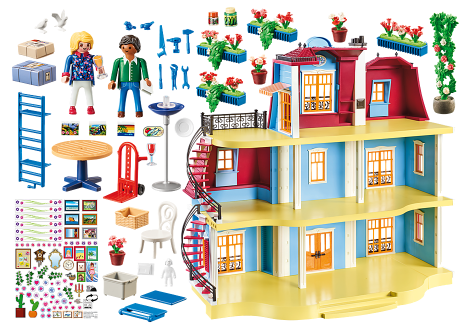 70205 Large Dollhouse detail image 3