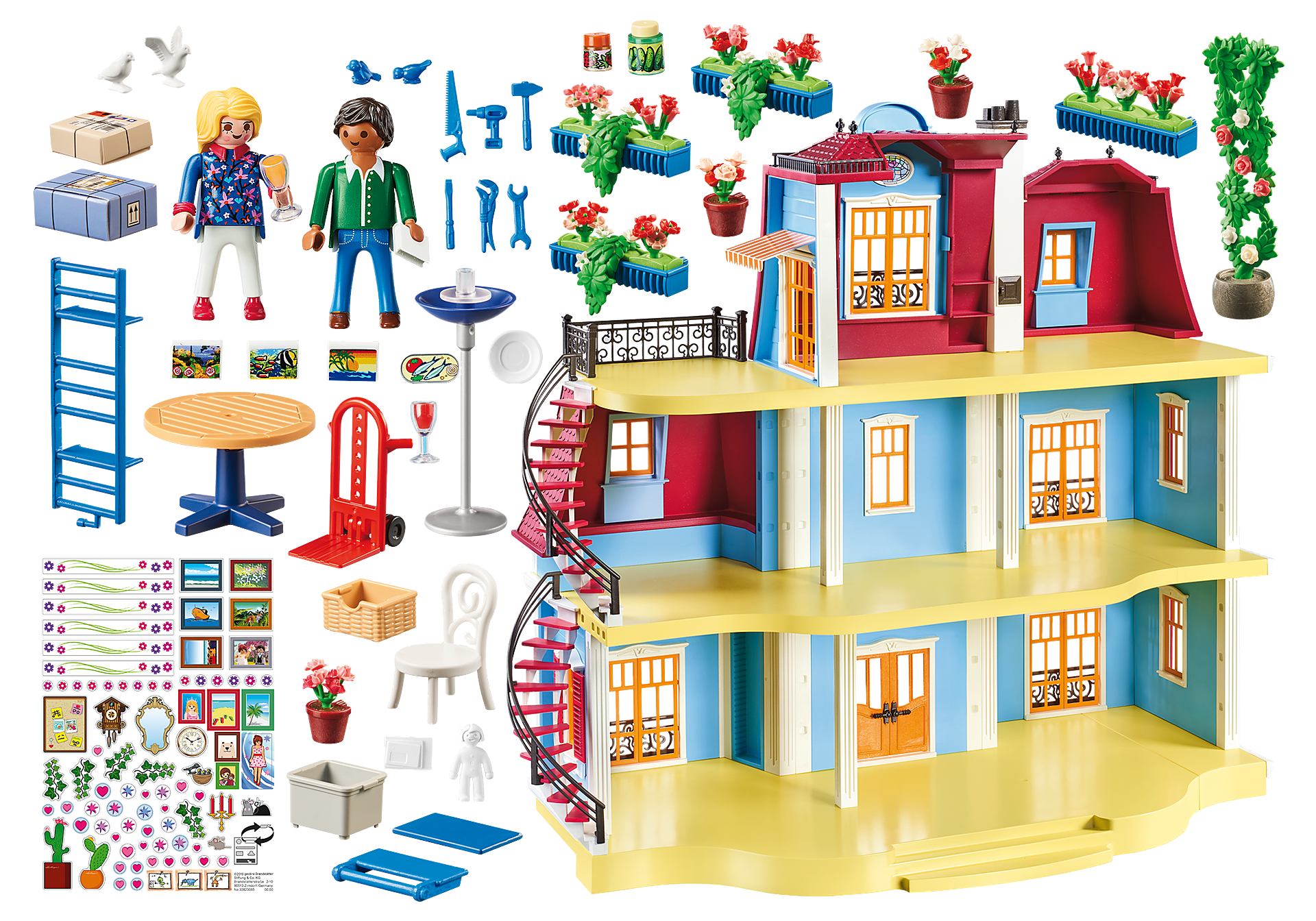 70205 Large Dollhouse zoom image3