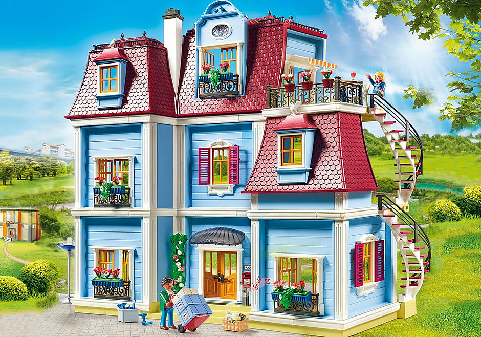 70205 Large Dollhouse detail image 1