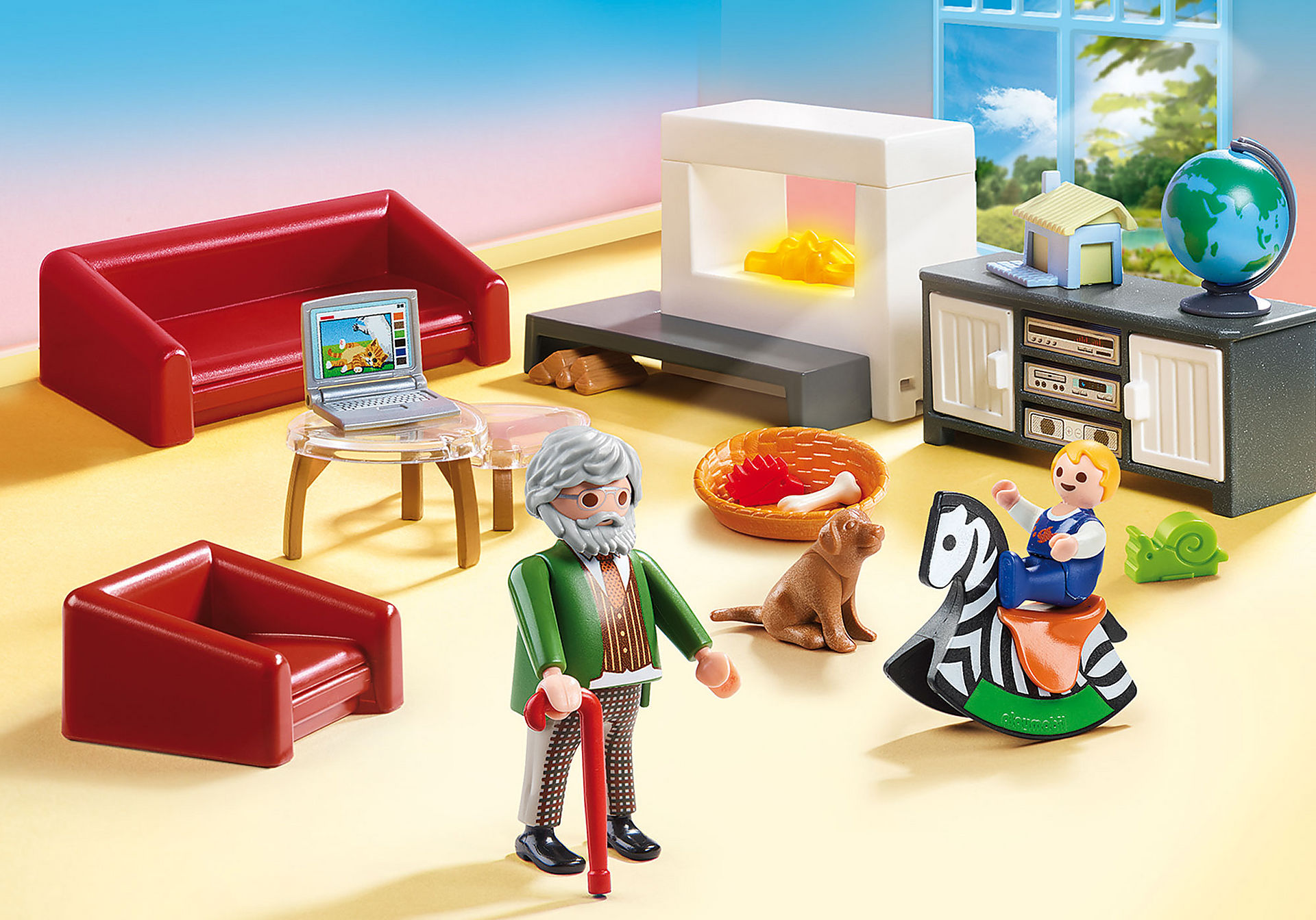 70207 Comfortable Living Room zoom image1