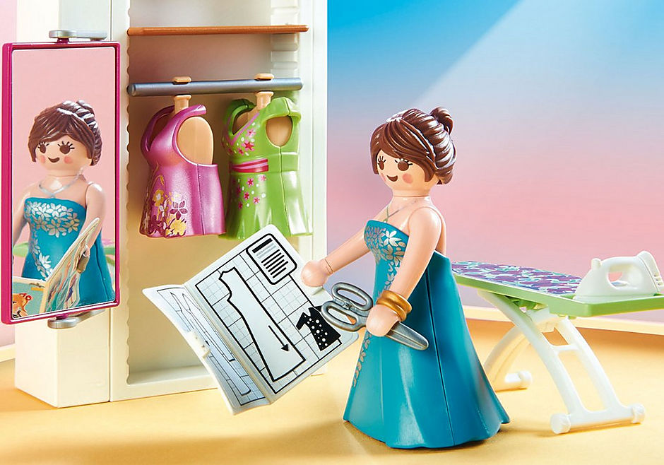 http://media.playmobil.com/i/playmobil/70208_product_extra2/Bedroom with Sewing Corner