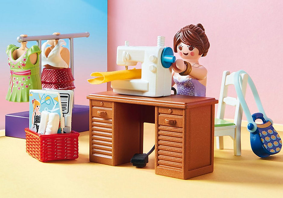 http://media.playmobil.com/i/playmobil/70208_product_extra3/Bedroom with Sewing Corner