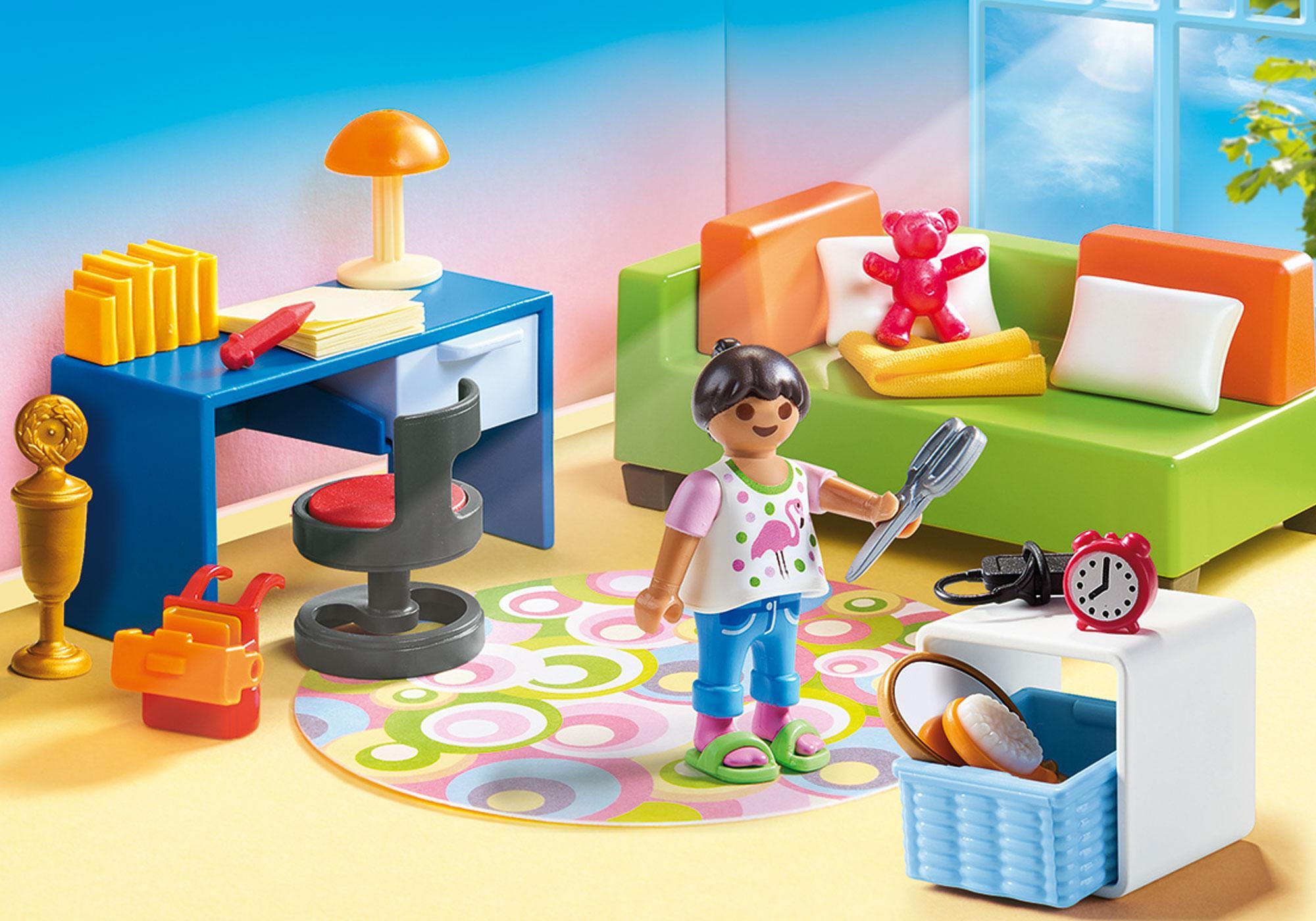 http://media.playmobil.com/i/playmobil/70209_product_detail/Chambre d'enfant avec canapé-lit
