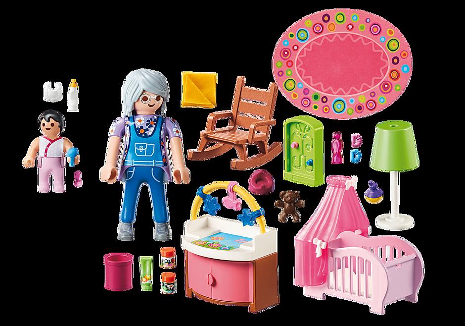 Chambre de bébé - 70210 - PLAYMOBIL® België