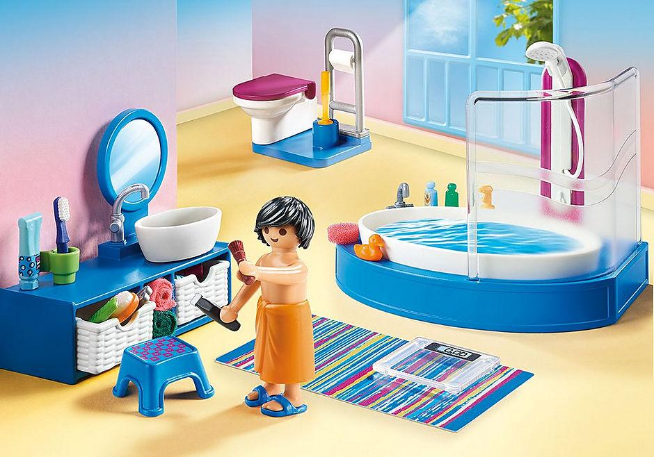 70211 Salle de bain avec baignoire  detail image 1